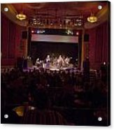 Acoustic Alchemy On Stage Acrylic Print