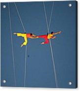 Acrobats  Acrylic Print