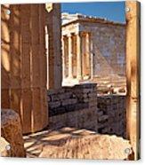 Acropolis Temple Acrylic Print
