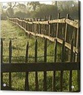 Across From Yarnton Acrylic Print
