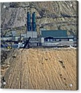 Across The Berkeley Pit Viewing  Acrylic Print