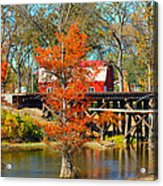 Across The Bridge Acrylic Print