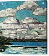 Across The Cataraqui Acrylic Print