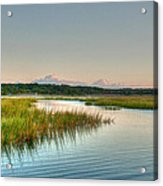 Across The Marsh Acrylic Print