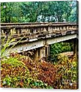 Across The Old Bridge Acrylic Print