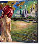 Across The River Acrylic Print