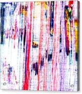 Acryl  Happy Sally Behind The Shower Curtain... Boo Acrylic Print