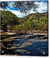 Acton California Acrylic Print