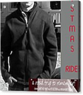 Actor In Christmas Ride Film Acrylic Print