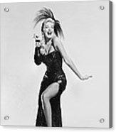 Actress Barbara Nichols Acrylic Print
