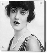 Actress Mabel Normand Acrylic Print