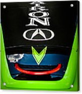 Acura Patron Car Hood Acrylic Print