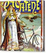 Ad Bicycles, 1898 Acrylic Print