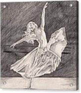 Adagio Acrylic Print by Beverly Marshall
