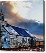 Adak Alaska Church Acrylic Print