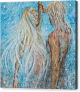 Adam And Eve  Acrylic Print