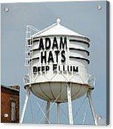 Adam Hats In Deep Ellum Acrylic Print