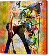 Adam Levine - Maroon 5 Acrylic Print