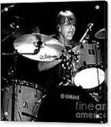 Adam Woods - Drummer - The Fixx Acrylic Print by Anthony Gordon Photography