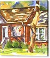 Adams Home Acrylic Print by Kip DeVore