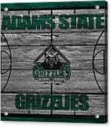 Adams State Grizzlies Acrylic Print