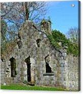Adare Chapel Ruins Acrylic Print