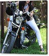 Adel Easy Rider Acrylic Print