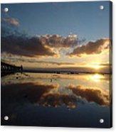 Adelaide Sunset Acrylic Print