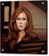 Adele Acrylic Print