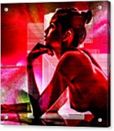 Adeline Topless 18 Acrylic Print