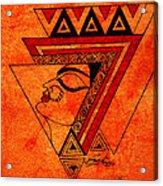 Adi Shakti Acrylic Print