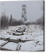 Adirondack Fire Tower 2 Acrylic Print