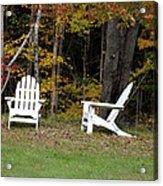 Adirondack Foliage Acrylic Print