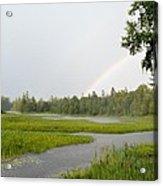 Adirondack Rainbow Treat Acrylic Print