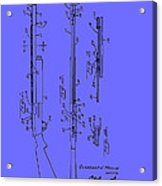 Adjustable Shotgun Choke Control Patent Acrylic Print