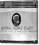Admiral Dewey Monument Acrylic Print