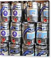 Adnams Jubilee Beer Keg Acrylic Print