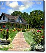 Adobe Alamo Pintado Rideau Vineyards Acrylic Print