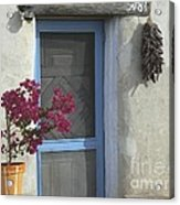 Adobe Home In Ft. Lowell Acrylic Print