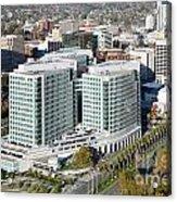 Adobe Systems Building San Jose California Acrylic Print