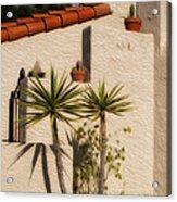 Adobe Wall Acrylic Print