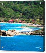 Adrenaline Beach - Cezanne II Acrylic Print