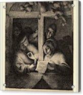 Adriaen Van Ostade Dutch, 1610-1685, The Singers Acrylic Print
