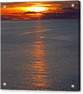 Adriatic Sunset Acrylic Print