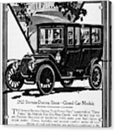 Ads Automobile, 1912 Acrylic Print