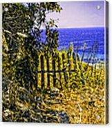 Aegean View Acrylic Print