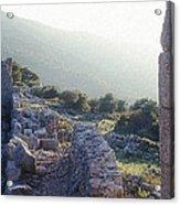 Aegothena Fortification Acrylic Print