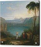 Aeneas And The Cumaean Sybil Acrylic Print