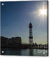 Aeri Del Port Vell Tower Acrylic Print