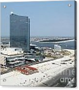 Aerial Of Revel On The Oceanfront Acrylic Print